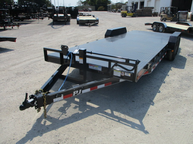 2018 PJ Trailer 83x22 CC Equipment CCJ2272BSNK0PT