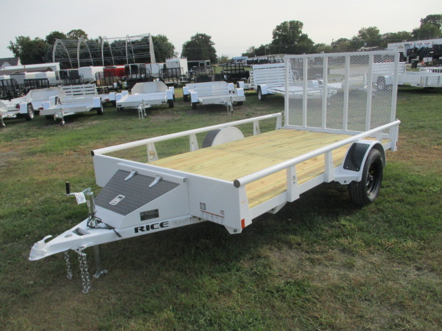 2018 Rice 76x12  Single Axle Utility RSP7612