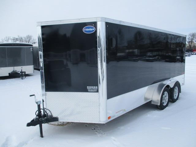 2018 United 7x16  Enclosed Motorcycle XLMTV-716TA35-8.5-T
