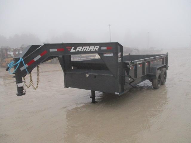 2018 Lamar 83x16  Gooseneck Dump DL831627.2