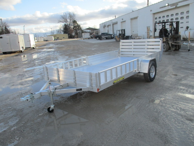 2019 Aluma 81x12.75  Aluminum Single Axle Utility 8113SR