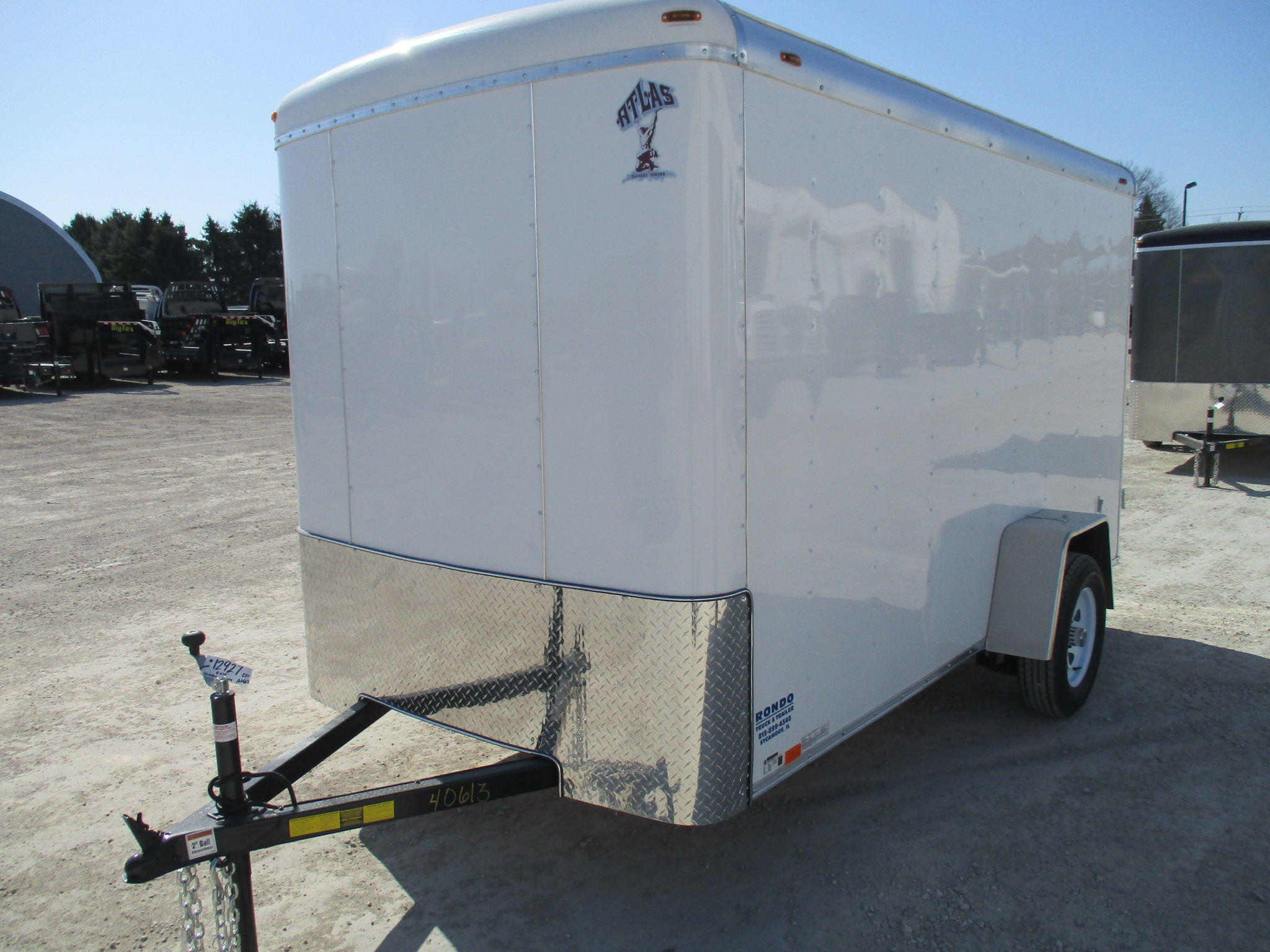 2018 Atlas 6x12  Enclosed Cargo AU612SA