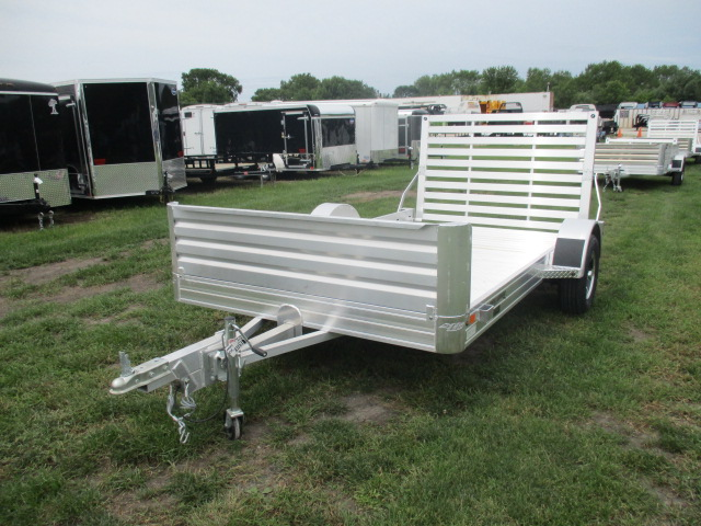 2019 Hillsboro 78x12  Aluminum Single Axle Utility AU7812