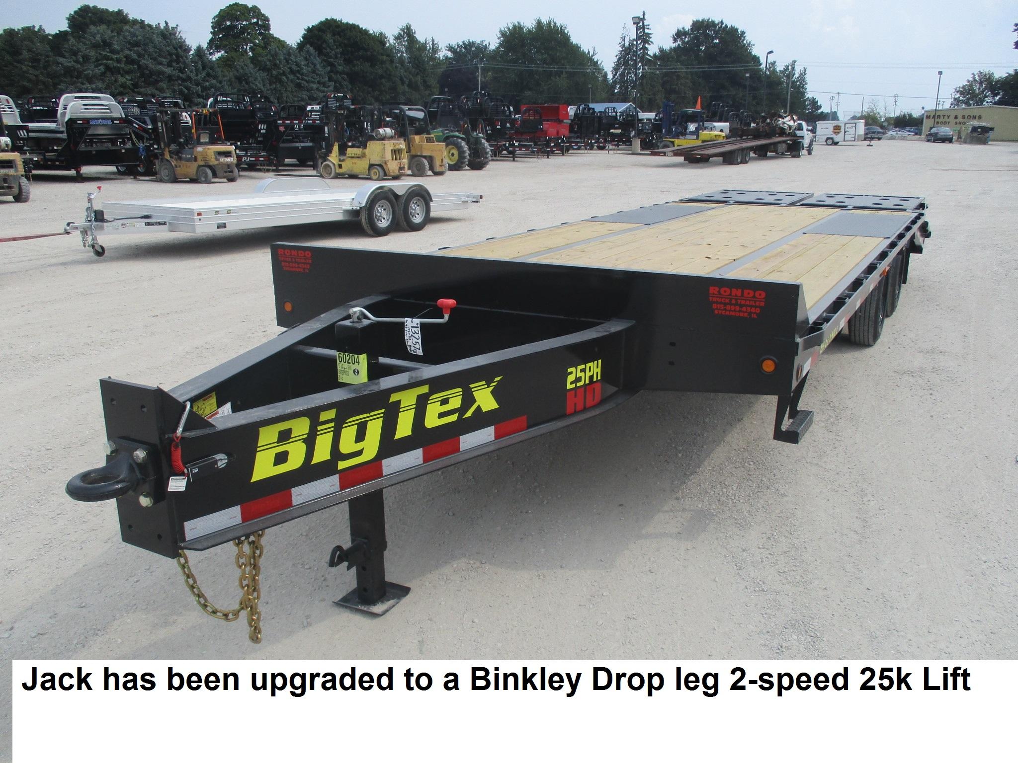 2019 Big Tex 102x25  Equipment Deckover 25PH-20BK+5MR