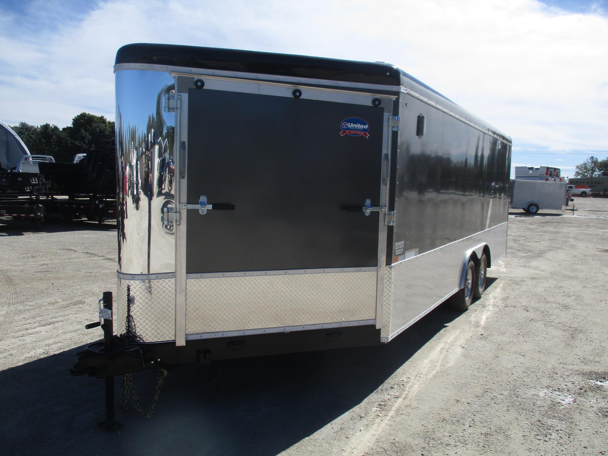 2019 United 8.5x25  Enclosed Car Hauler UC-8.525TA50-S