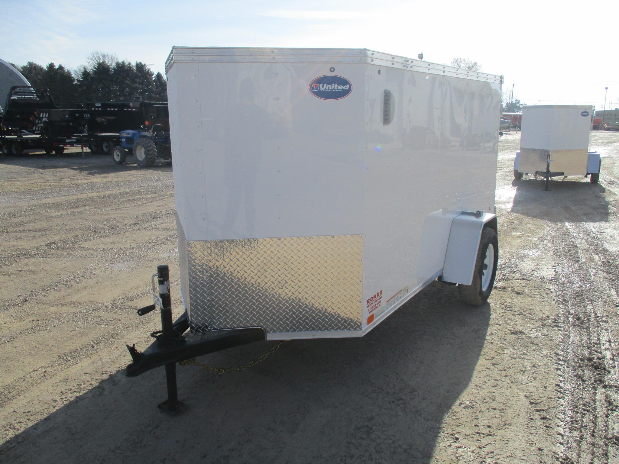 2019 United 5x10  Enclosed Cargo XLV-510SA30-S