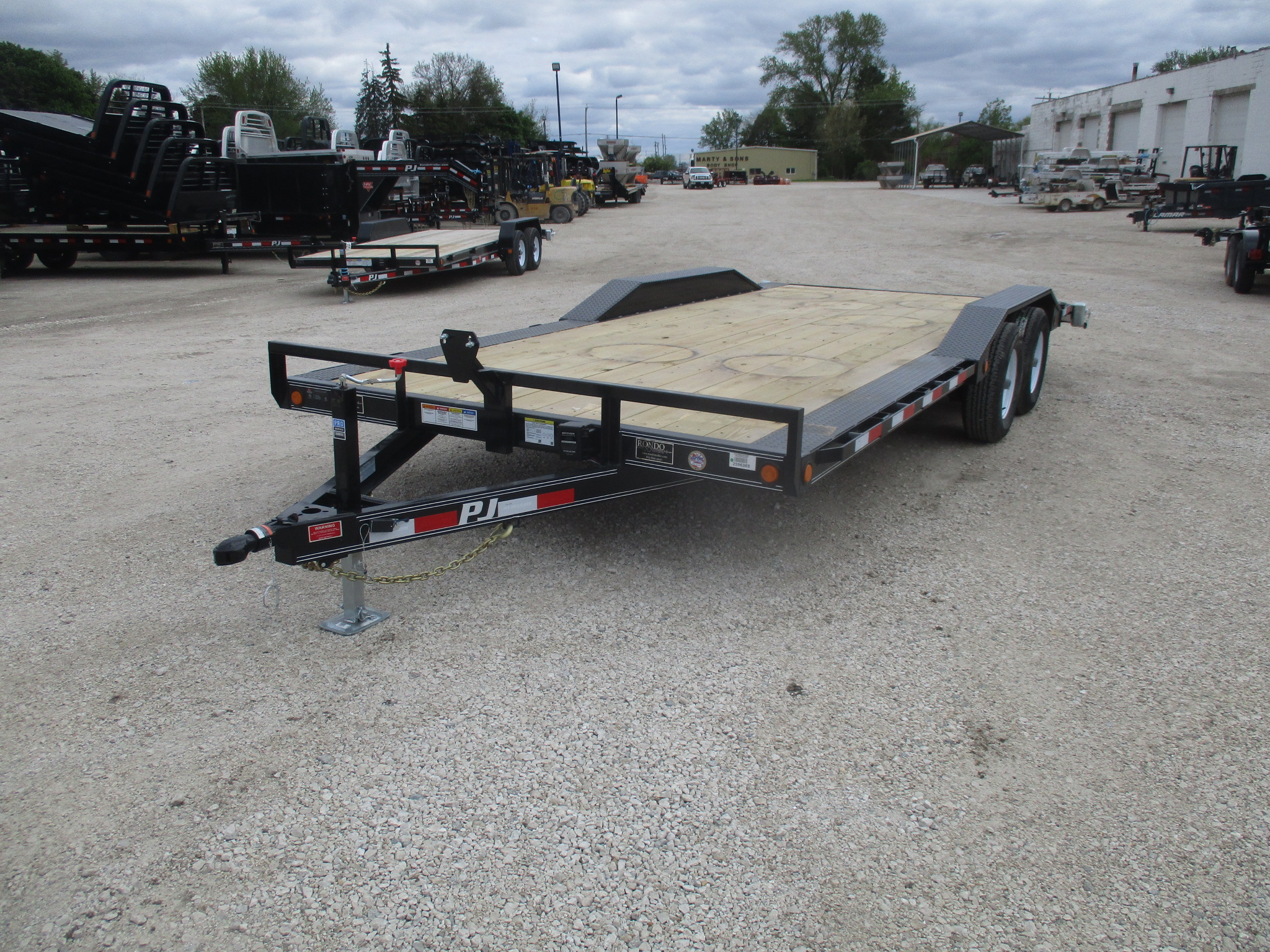 2019 PJ Trailer 102x20 B5 Equipment B5A2052ES2KT