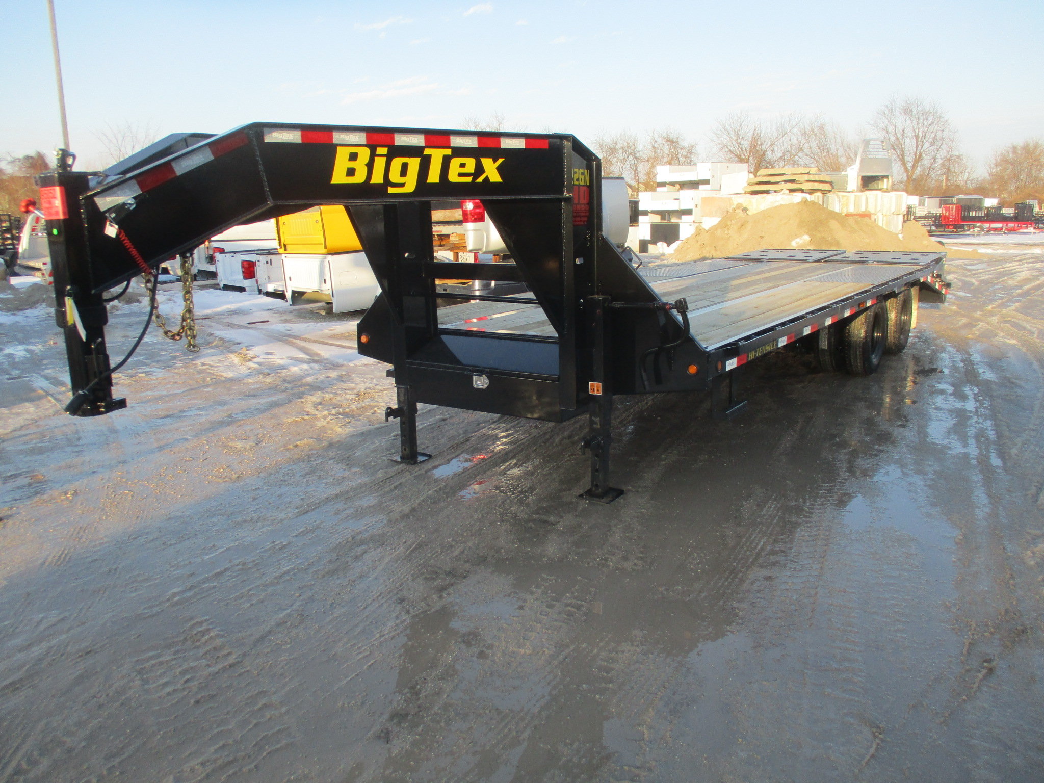 2019 Big Tex 102x25  Gooseneck 22GN-20BK+5MR