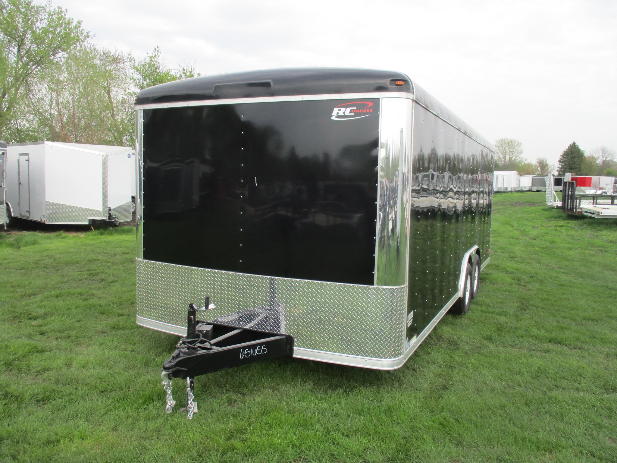 2019 RC Trailers 8.5x20  Enclosed Car Hauler RSTCH8.5X20TA3