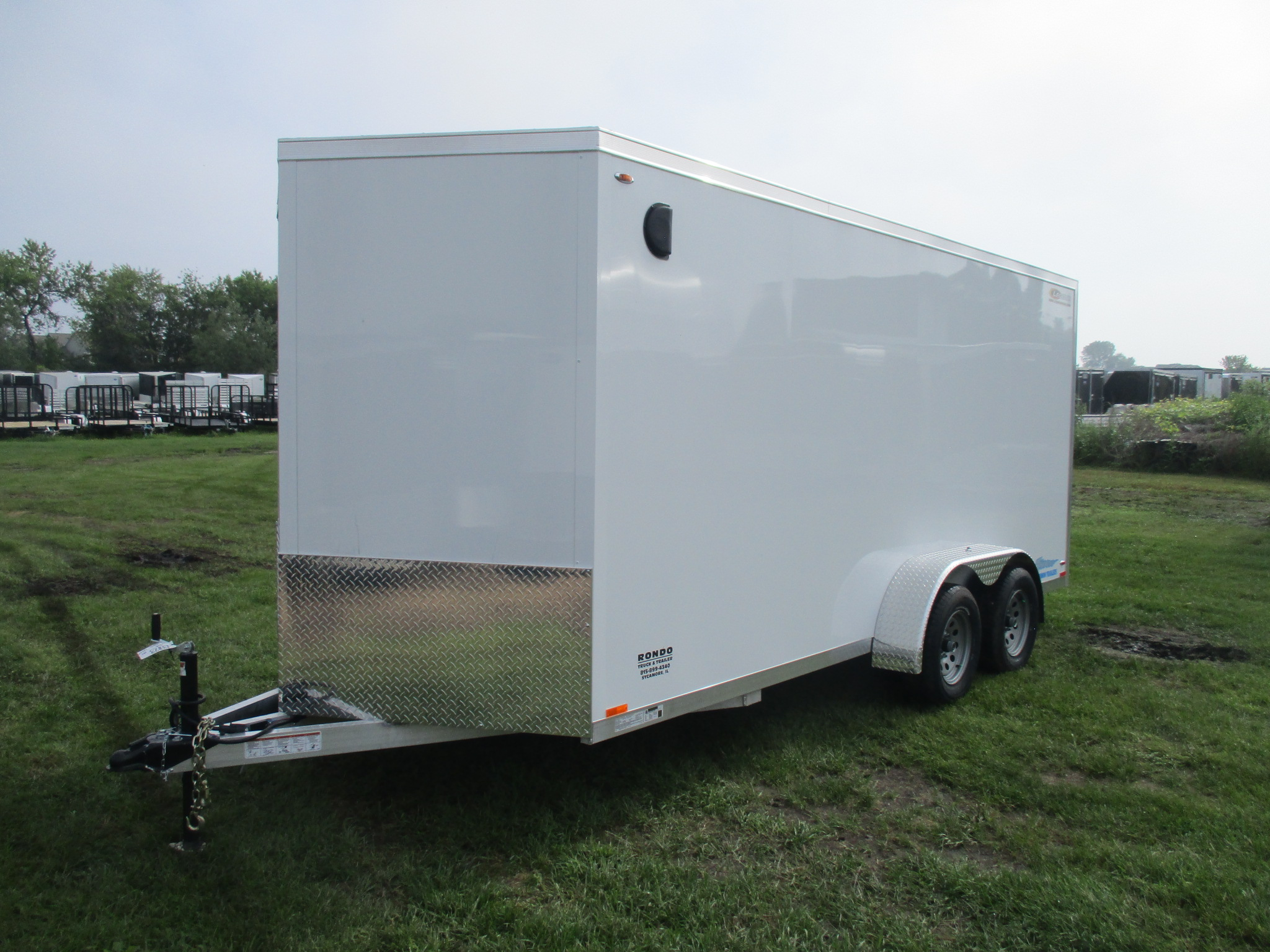 2019 Legend 7x18  Enclosed Cargo 7X18TVTA35