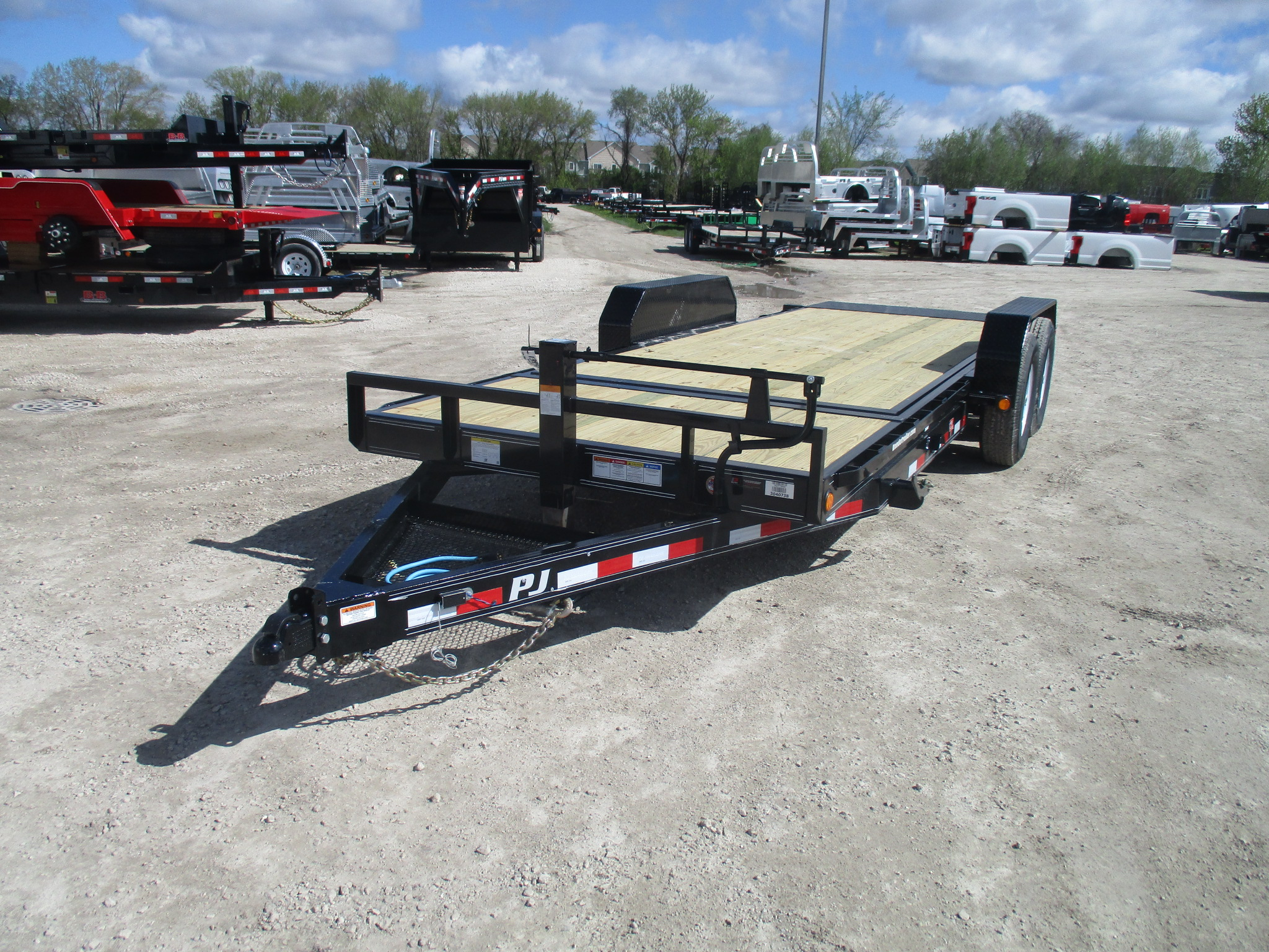 2020 PJ Trailer 82x20 T6 Equipment Tilt T6J2072BTTK