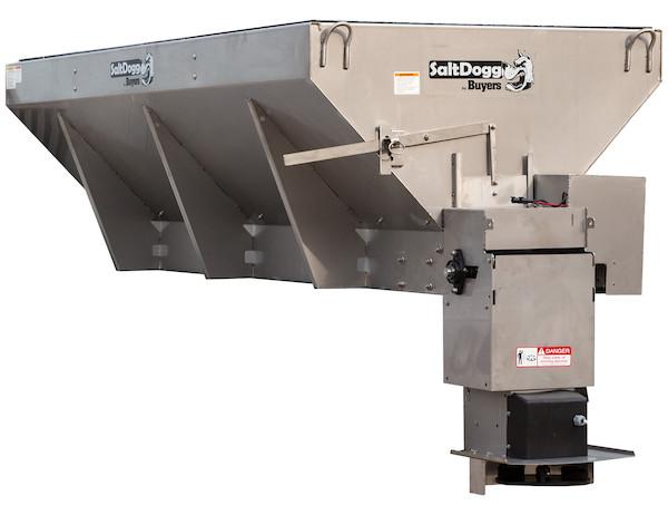 New Buyers 1400465SSE Model, V-Box Stainless Steel Spreader,