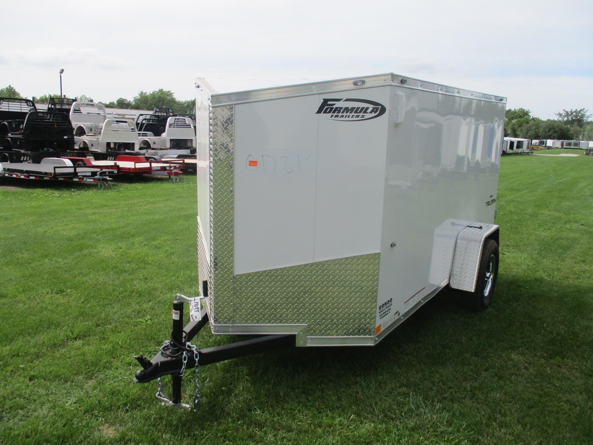2020 Formula 5x10  Enclosed Cargo FSCBC5X10SI2FF
