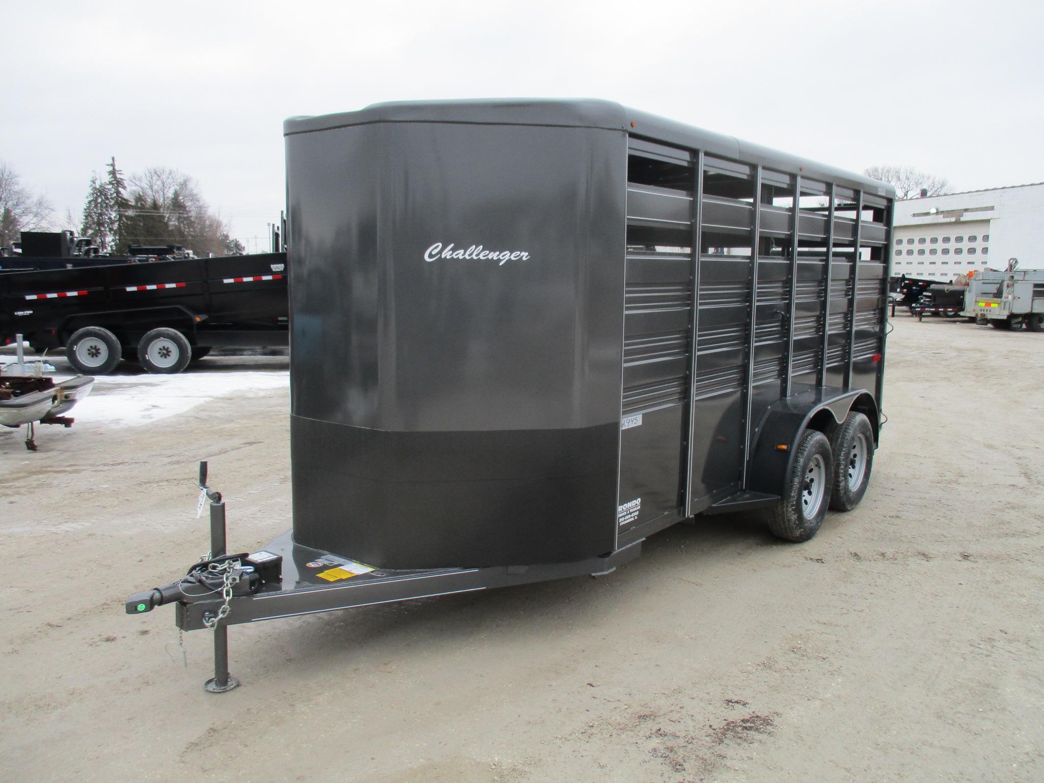 2020 Titan 6x16  Horse Challenger