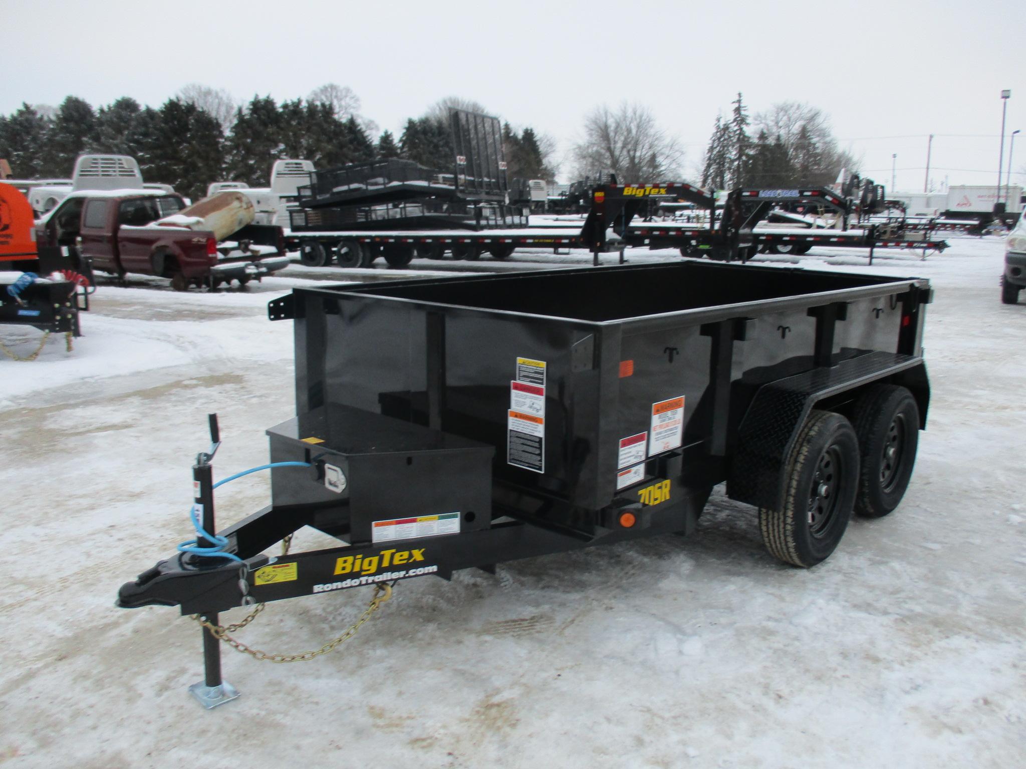 2021 Big Tex 60x10  Dump 70SR-10-5WDD