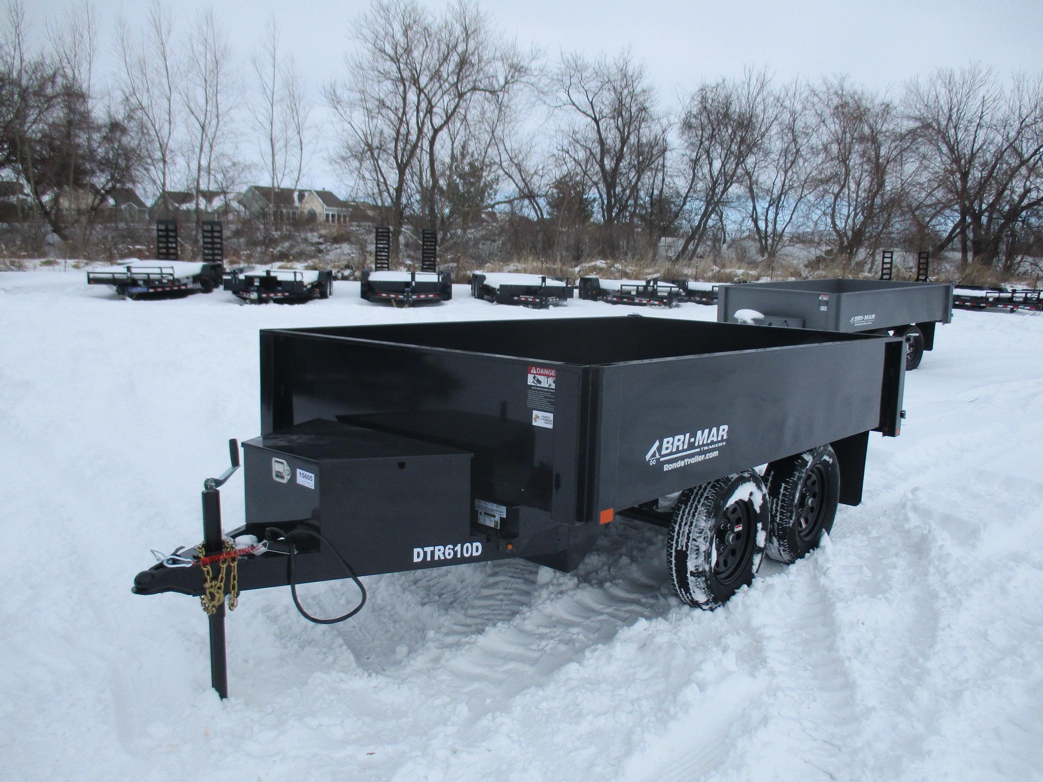 2021 Bri-Mar 72x10  Dump DTR610D-7