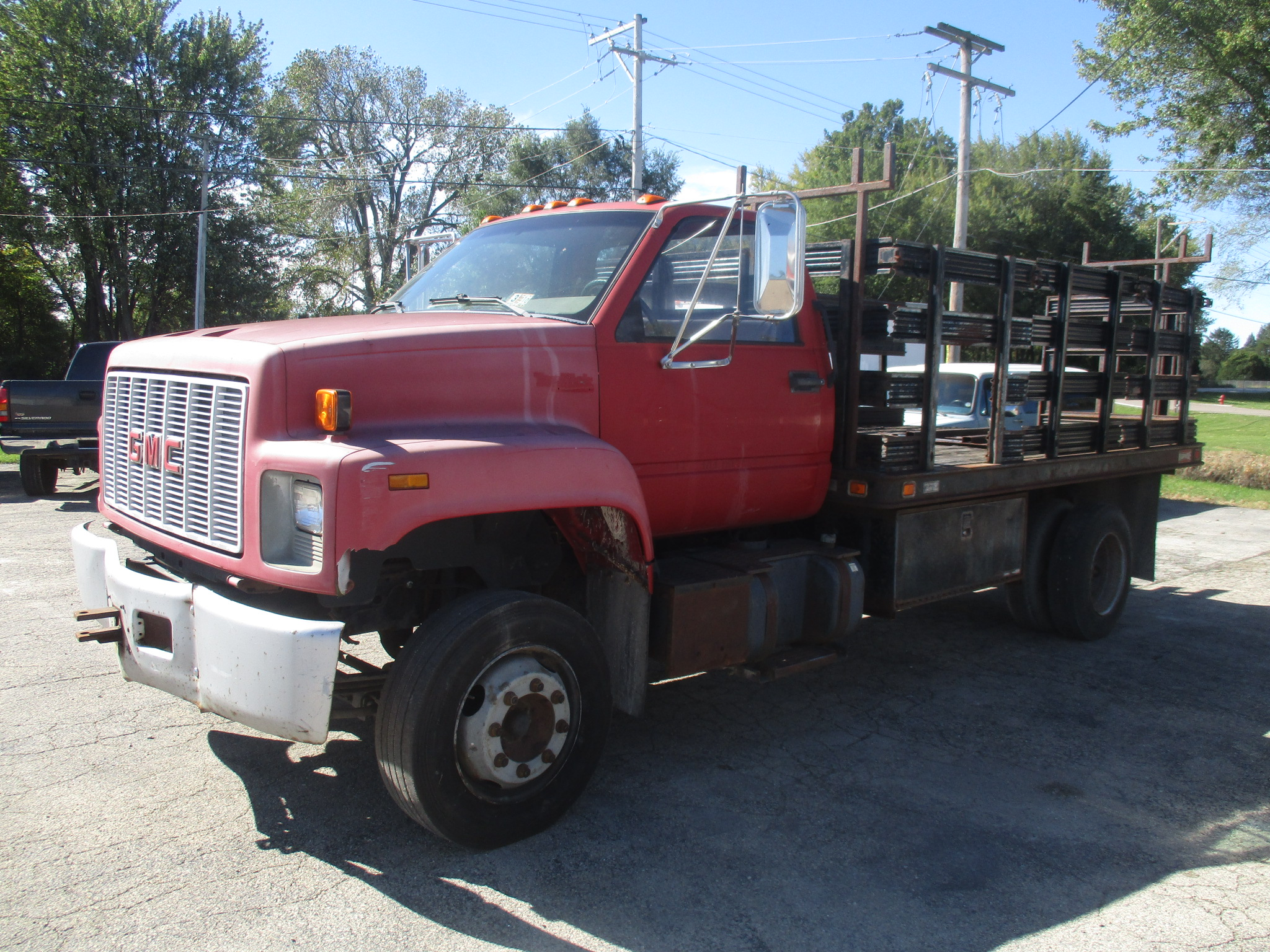 1990 GMC Top Kick C6H042 Regular Cab Flatbed