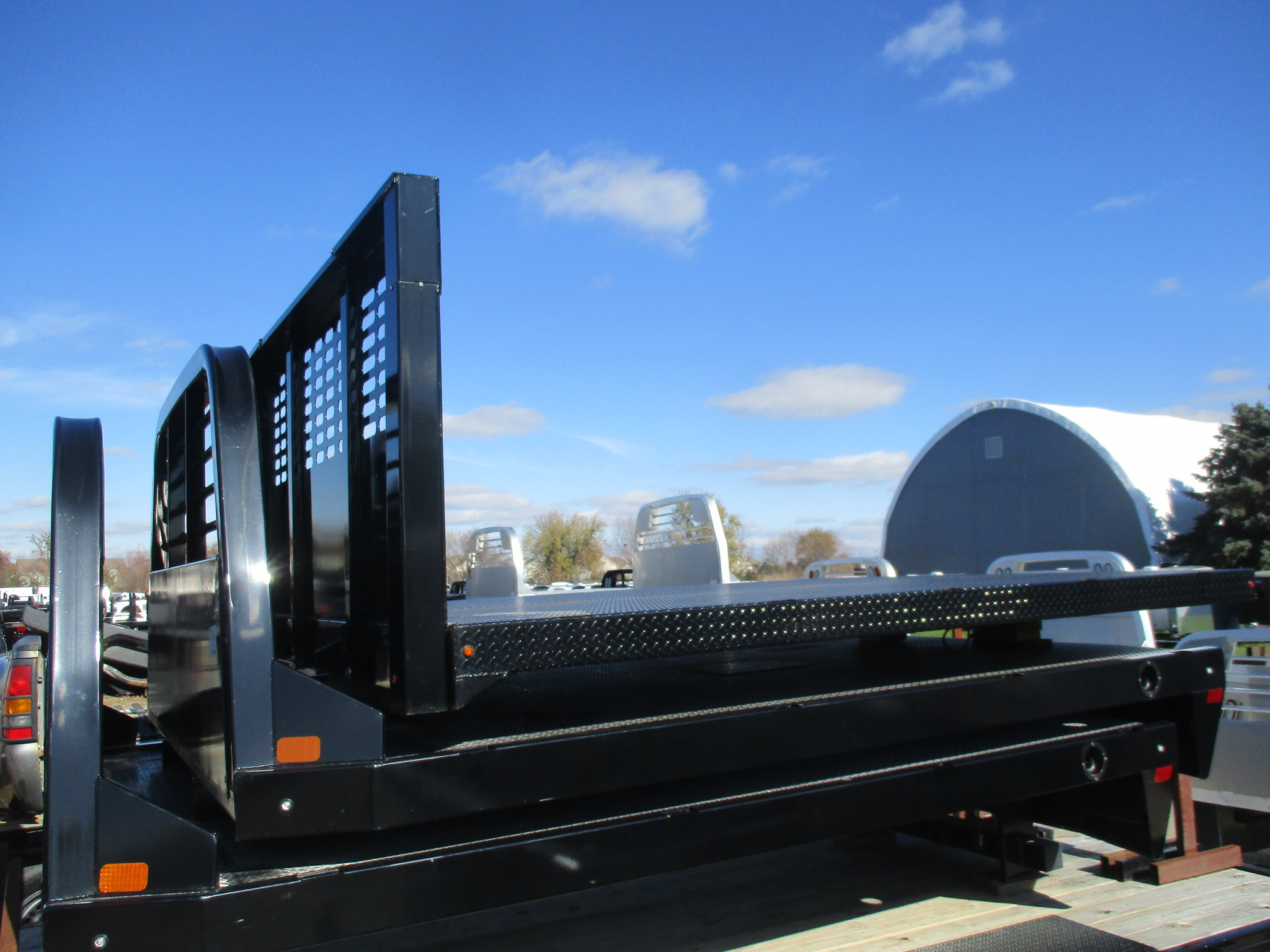 AS IS CM 10 x 96 PLS Flatbed Truck Bed