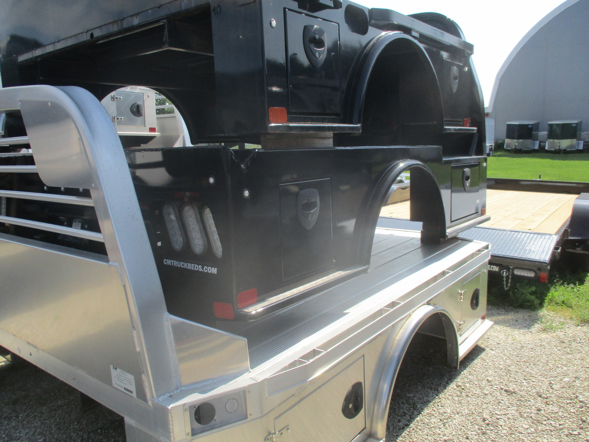 AS IS CM 8.5 x 84 WD Flatbed Truck Bed