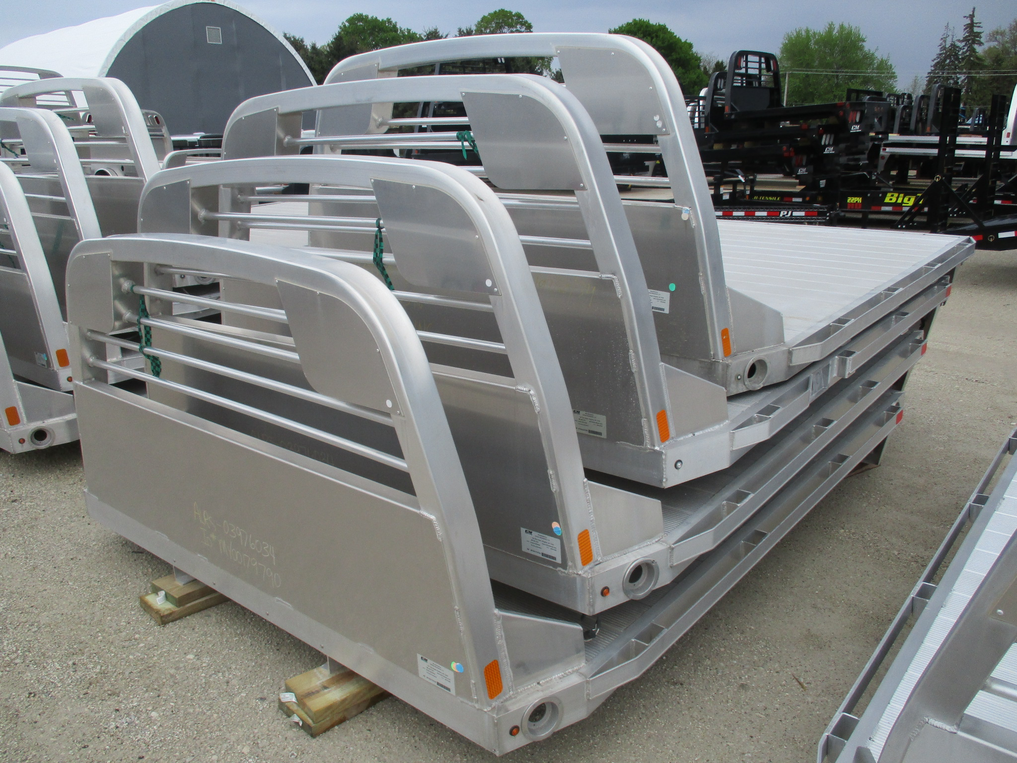 AS IS CM 9.3 x 97 RS Flatbed Truck Bed