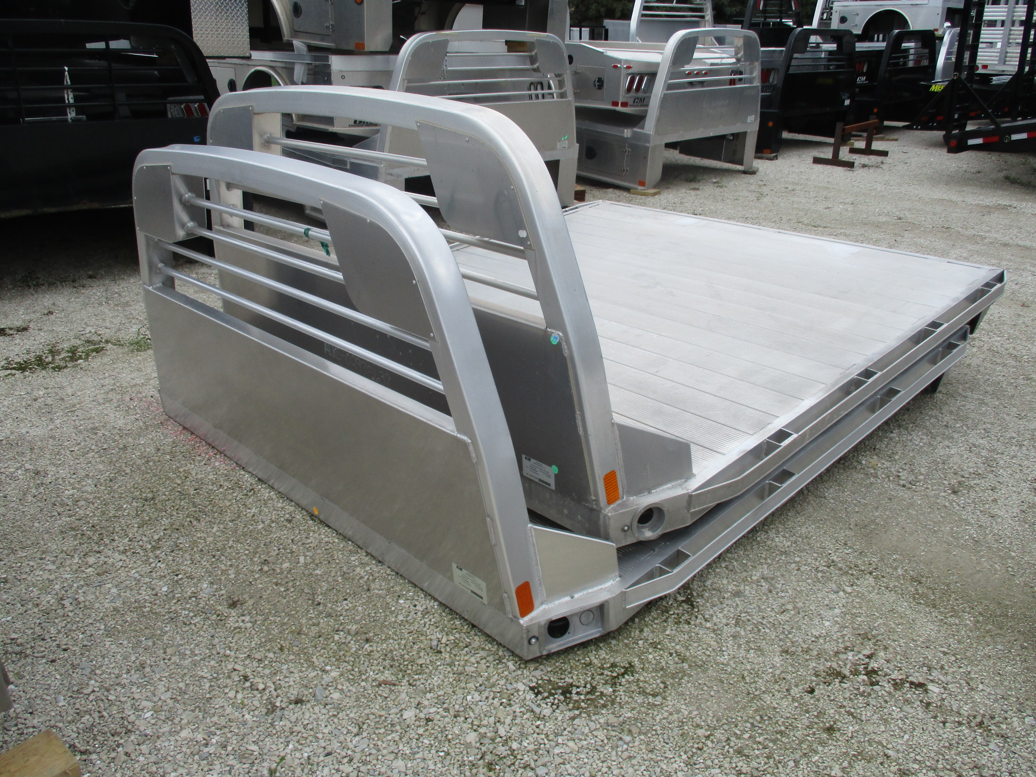 AS IS CM 8.5 x 97 RS Flatbed Truck Bed