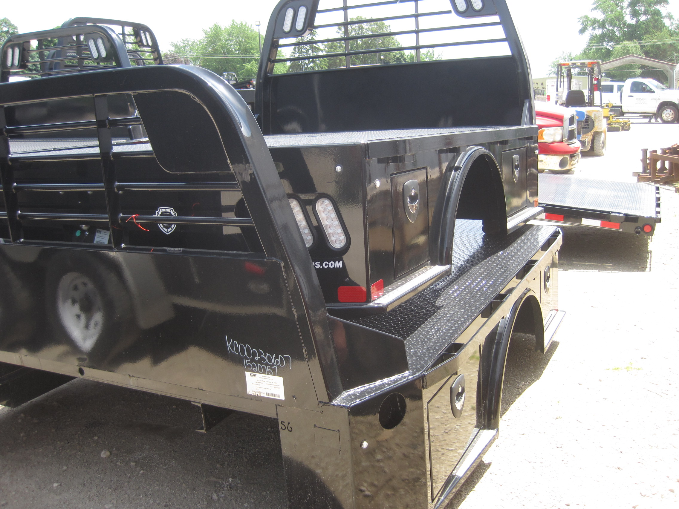 NEW CM 8.5 x 97 SK Flatbed Truck Bed