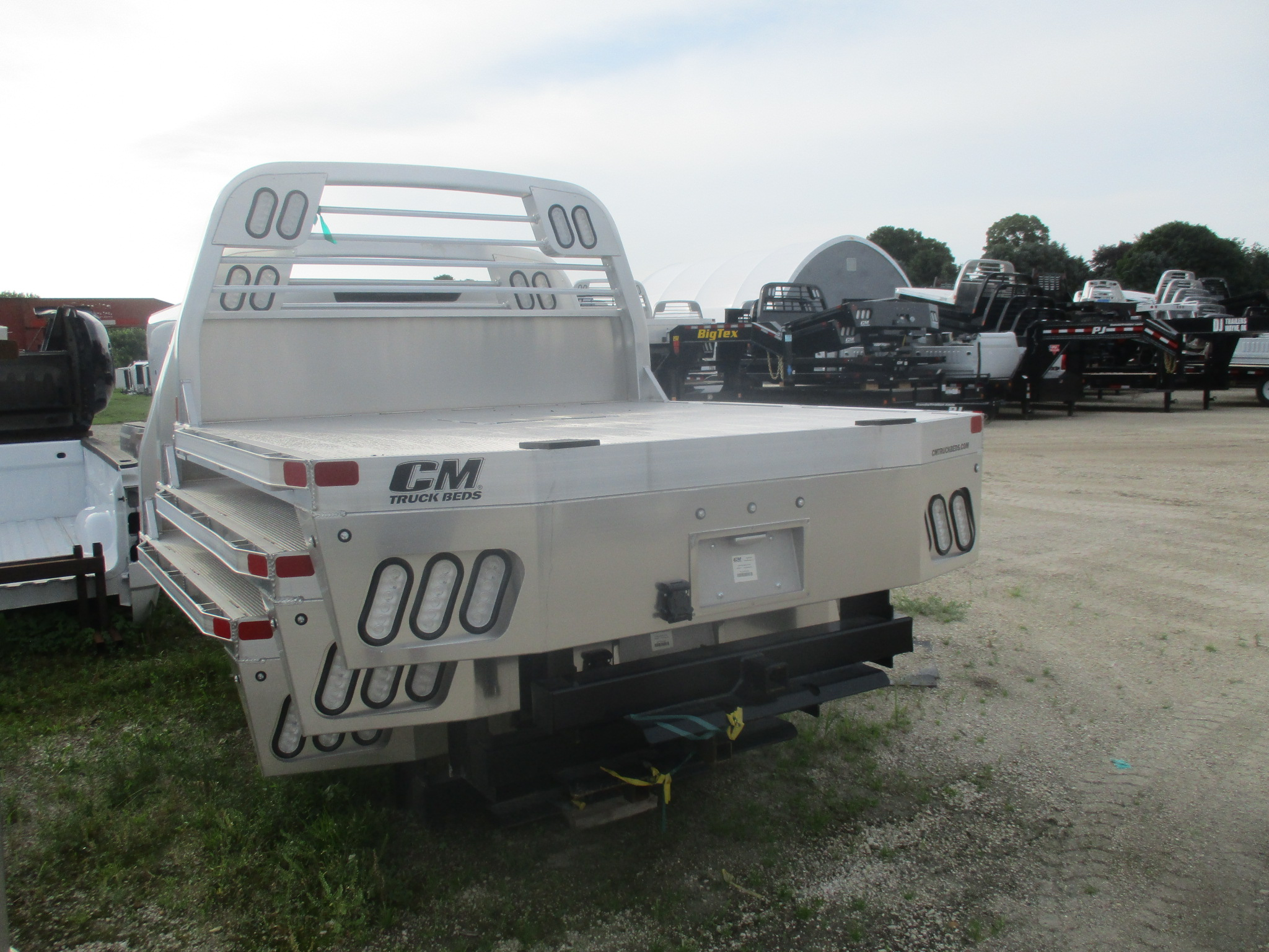 AS IS CM 7 x 84 ALRD Flatbed Truck Bed
