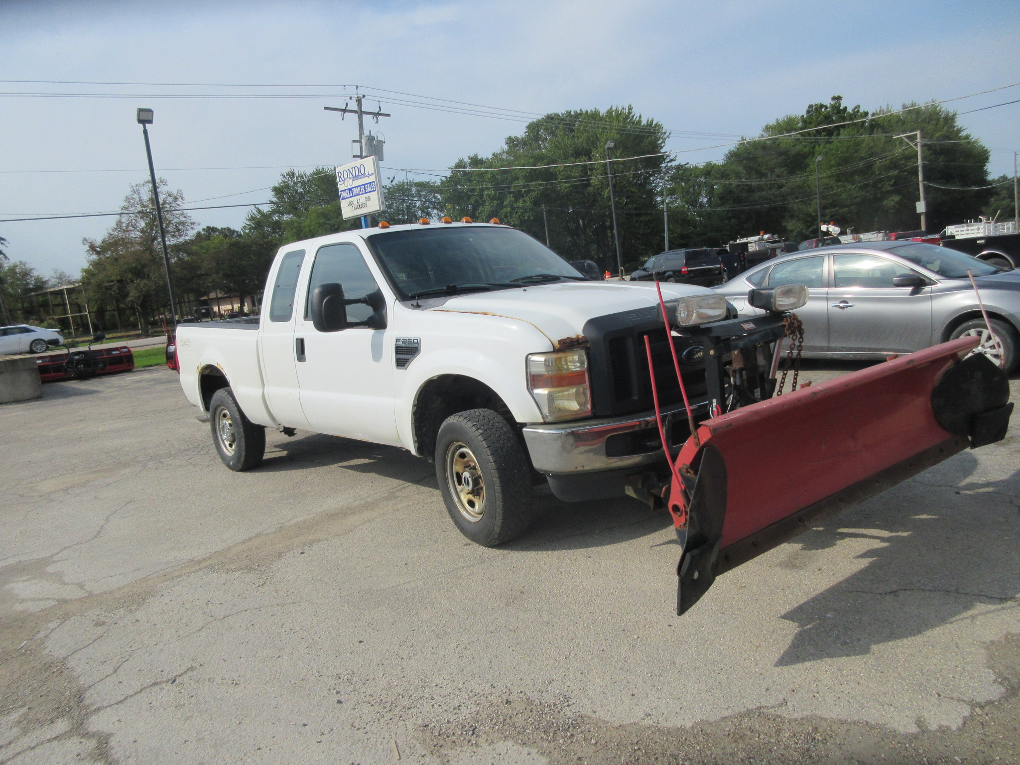 2010 Ford F250 Extended Cab Short Bed XL