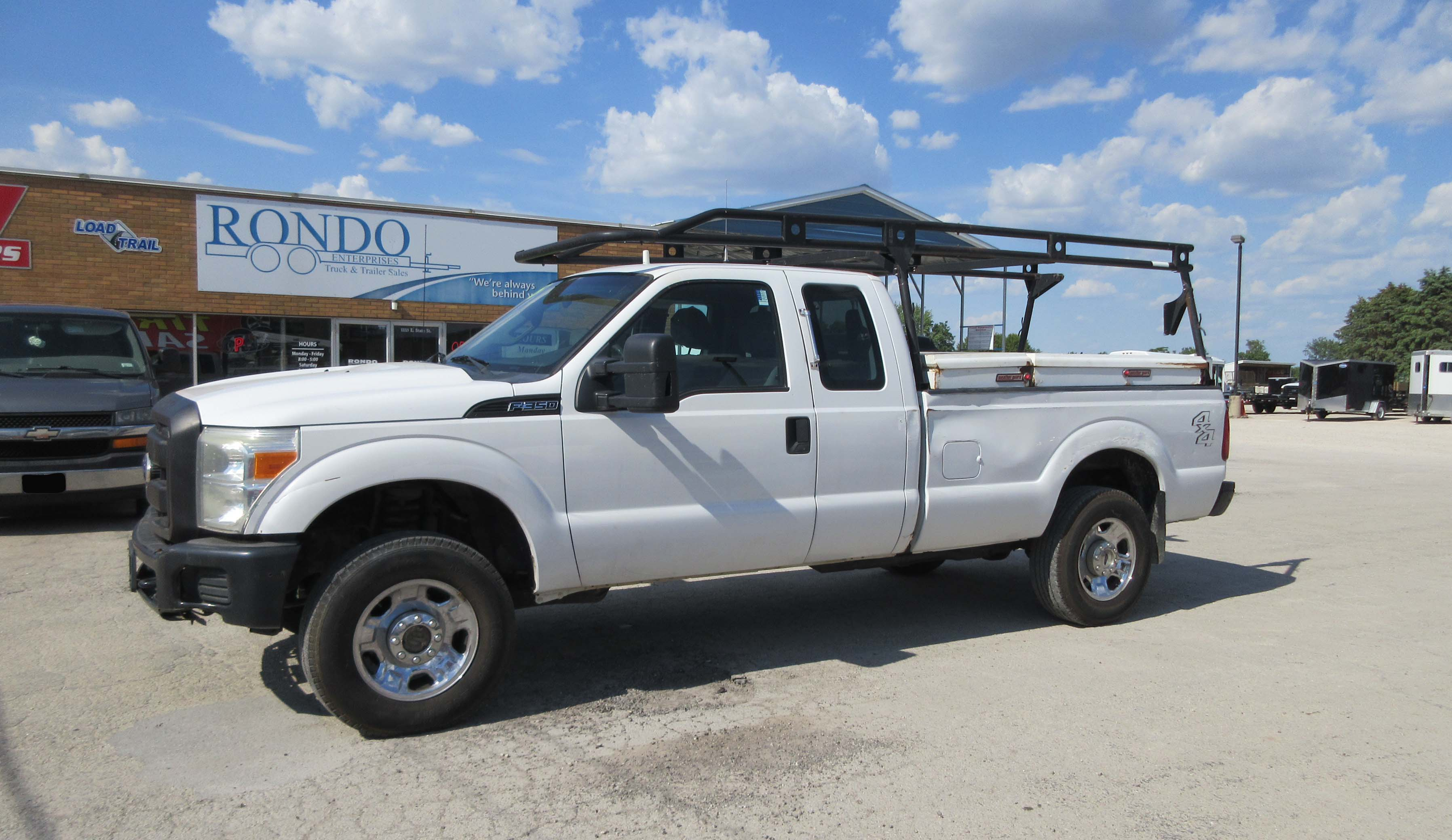2011 Ford F350 Extended Cab Long Bed XL