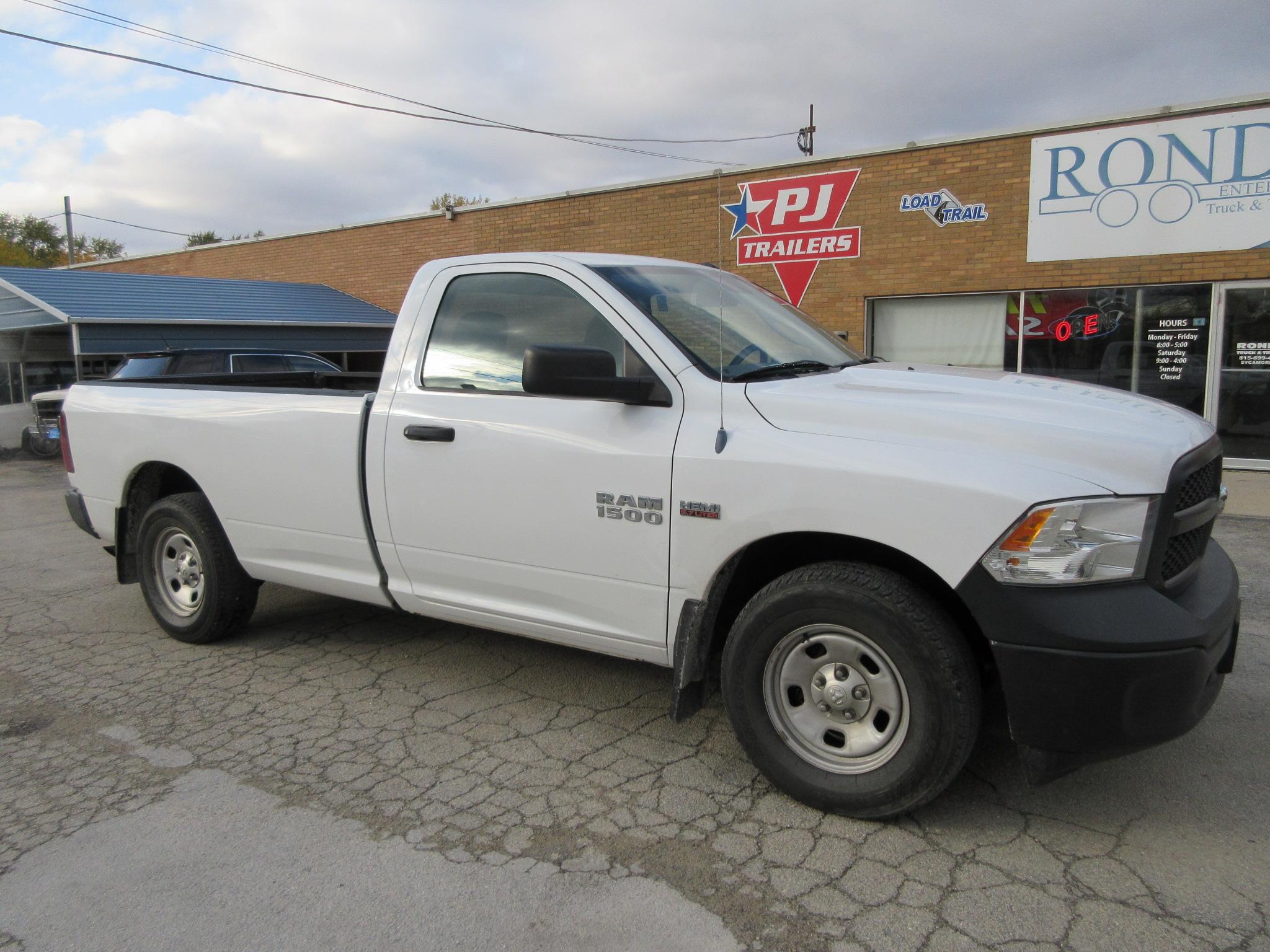 2013 Ram 1500 Regular Cab Long Bed Tradesman