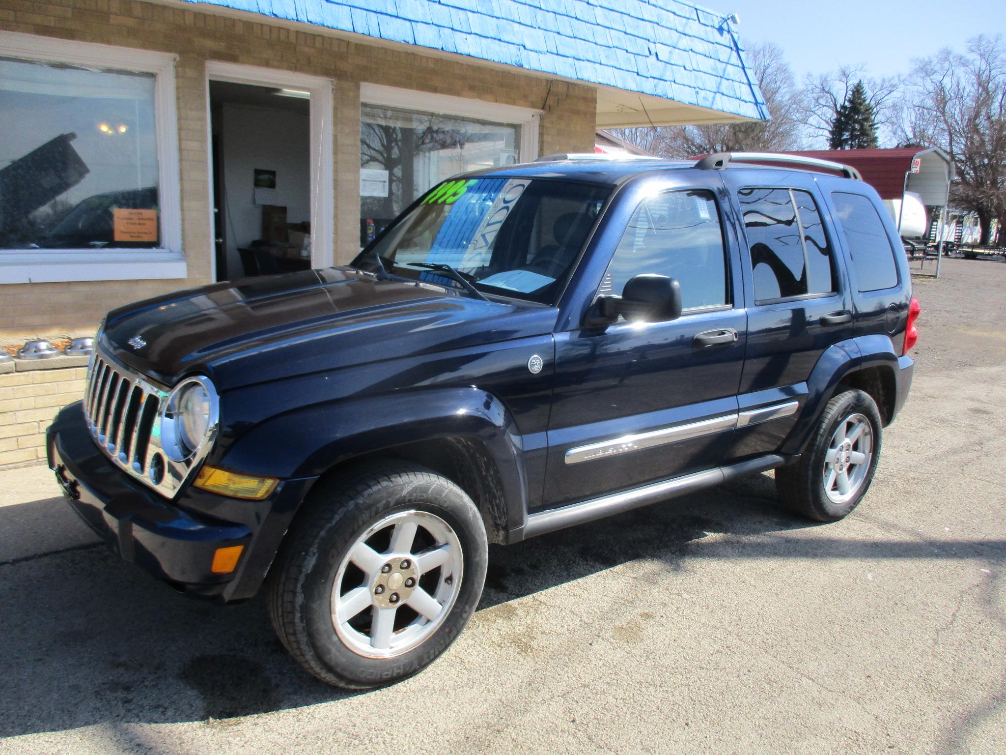 2006 Jeep Liberty 4 Door SUV   Limited