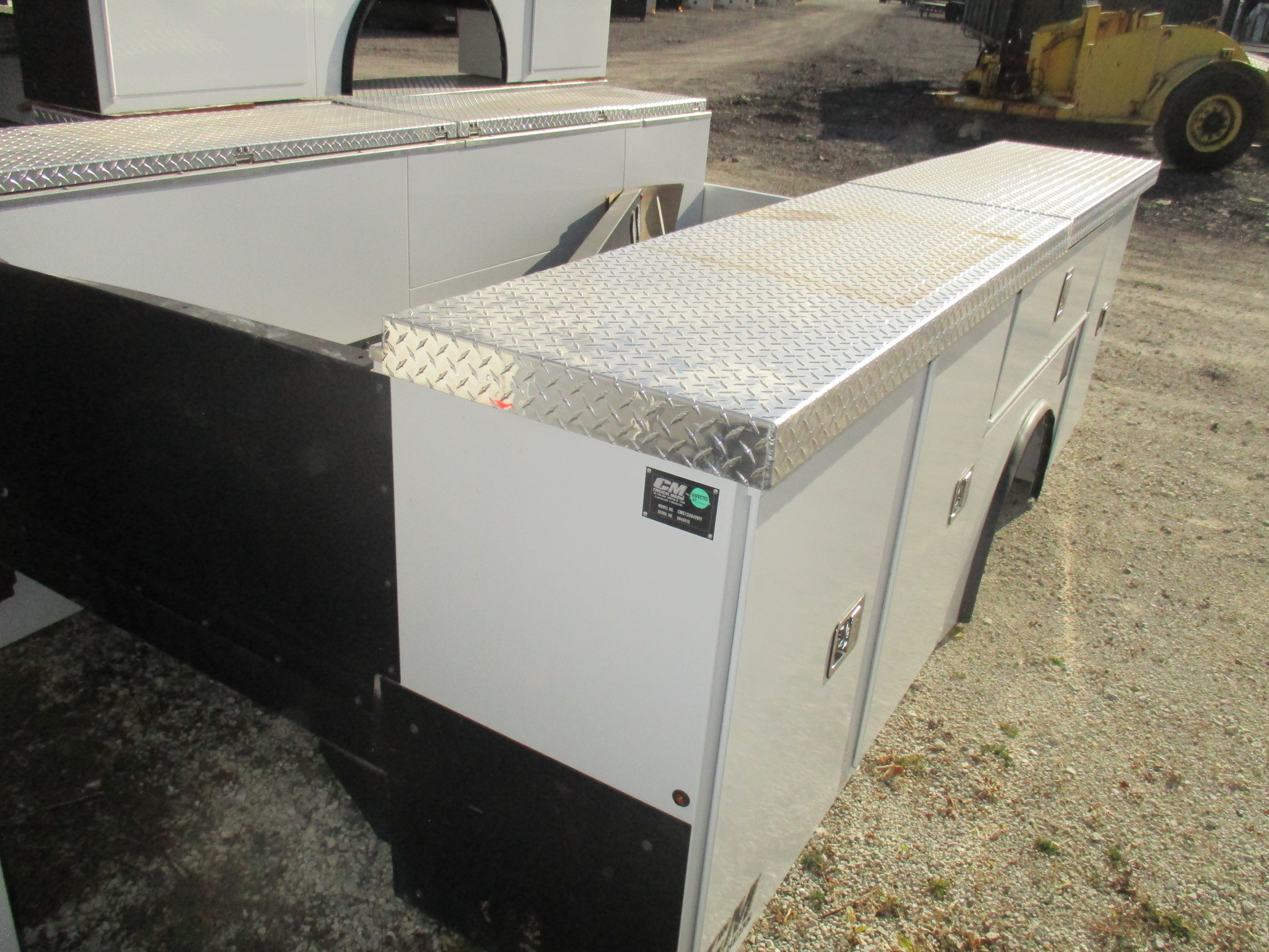 AS IS CM 11.08 x 94 SB Flatbed Truck Bed