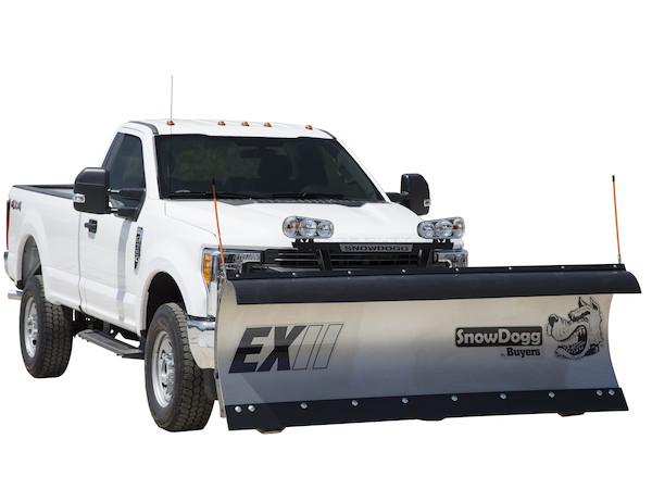 New Buyers EX75II Model, Straight blade, Full trip moldboard Stainless Steel Straight Blade, Standard