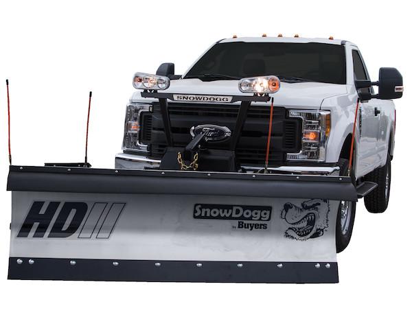 New Buyers HD80II Model, Straight blade, Full trip moldboard Stainless Steel Straight Blade, Standard