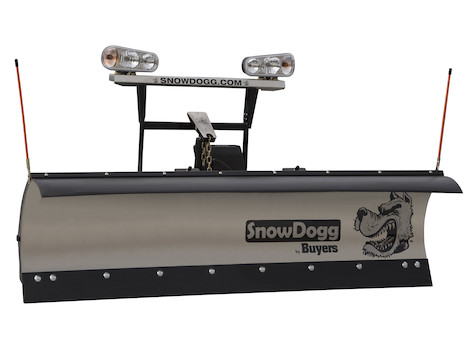 """NEW SnowDogg Plow (Buyers) 76"""" Medium Duty (MD75) -- LAST ONE of Gen 1, 10% off while supplies last."""