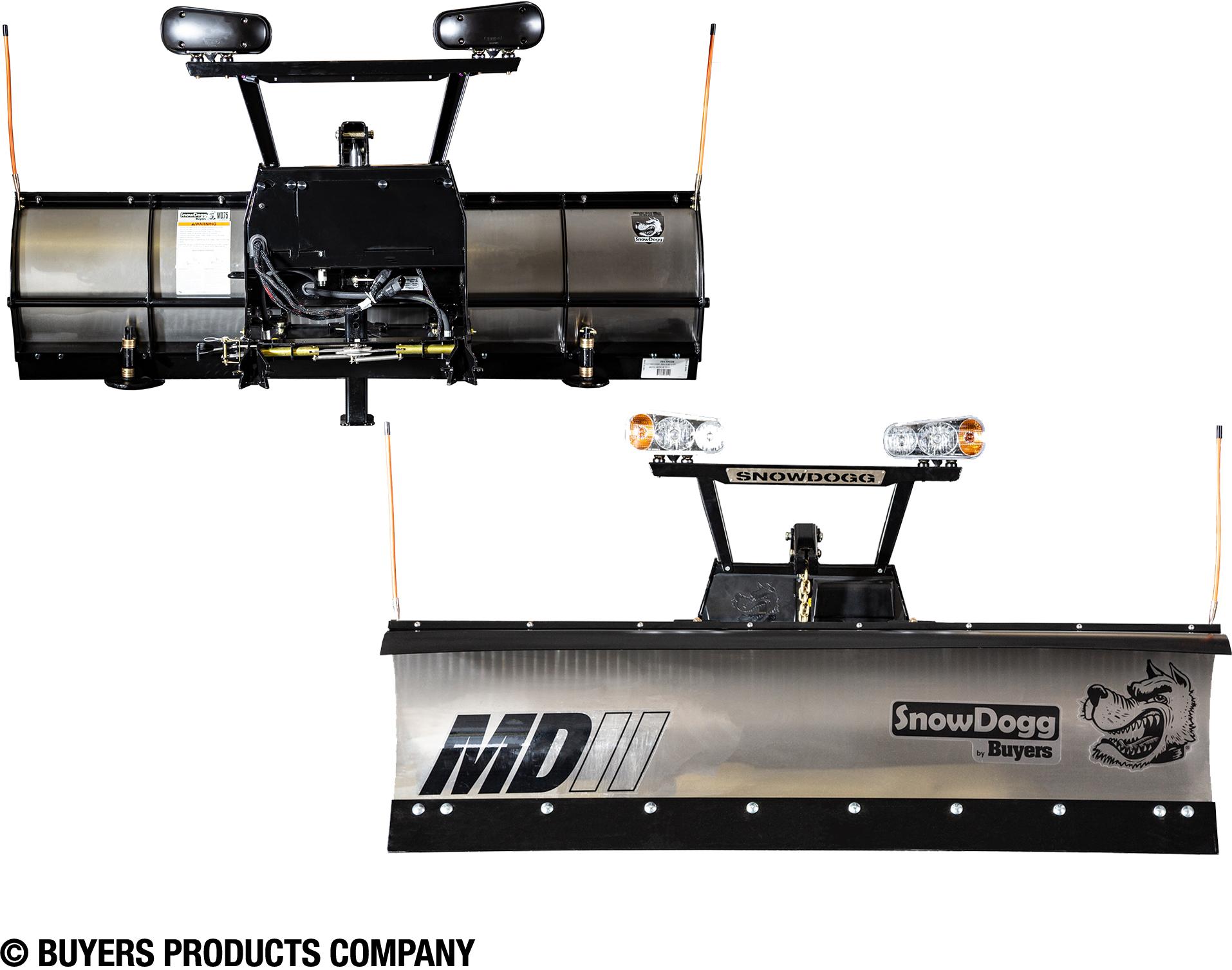 """NEW SnowDogg Plow (Buyers) 76"""" Medium Duty Gen2 (MD75II)."""