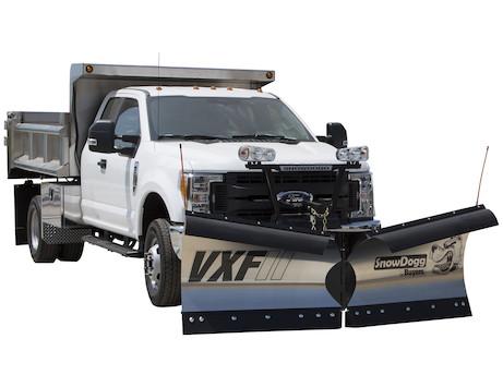 New Buyers VXF85II Model, V-plow Flare Top, Trip edge Stainless Steel V-Plow, Standard