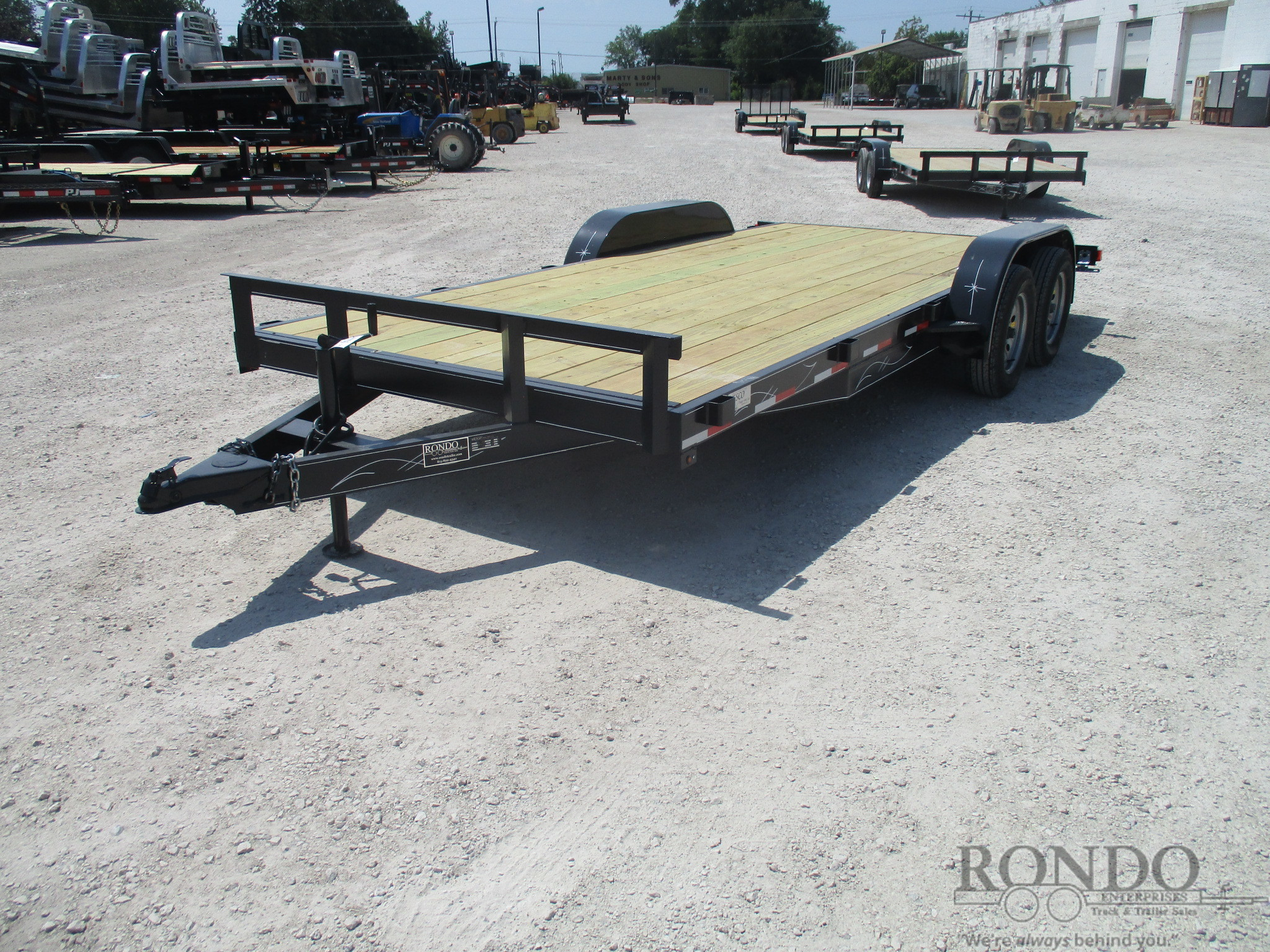 2019 Wesco 82x18 U0026 39  Car Hauler    Rondo Trailer